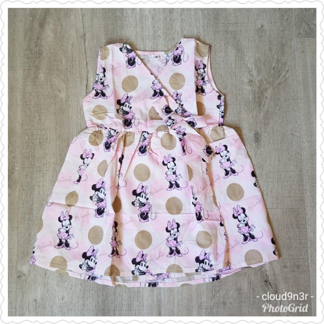 de9958c9206 *New Arrival* BN Handmade Premium Kimono Like Dress – Minnie Mouse