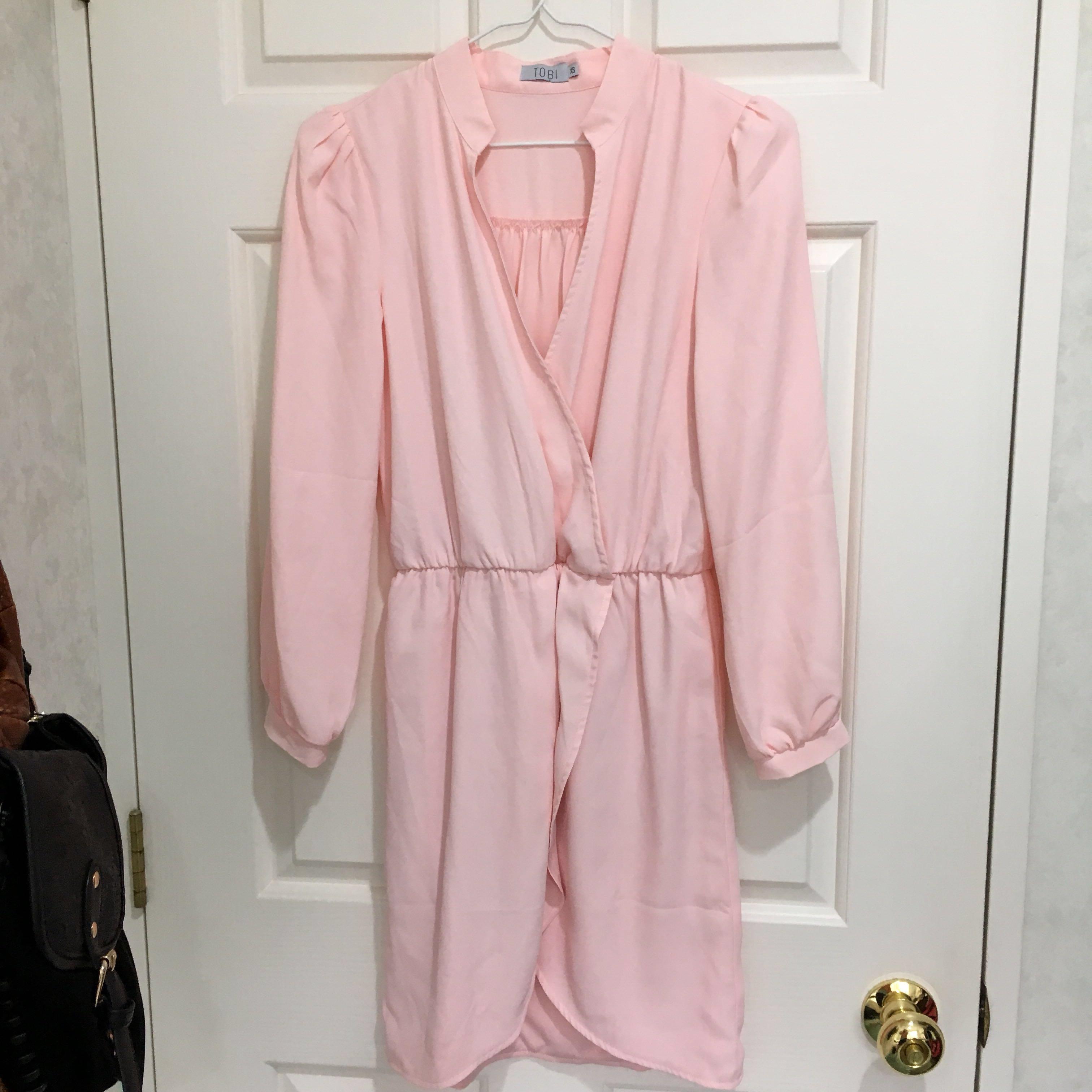 NEW Tobi dress in blush pink