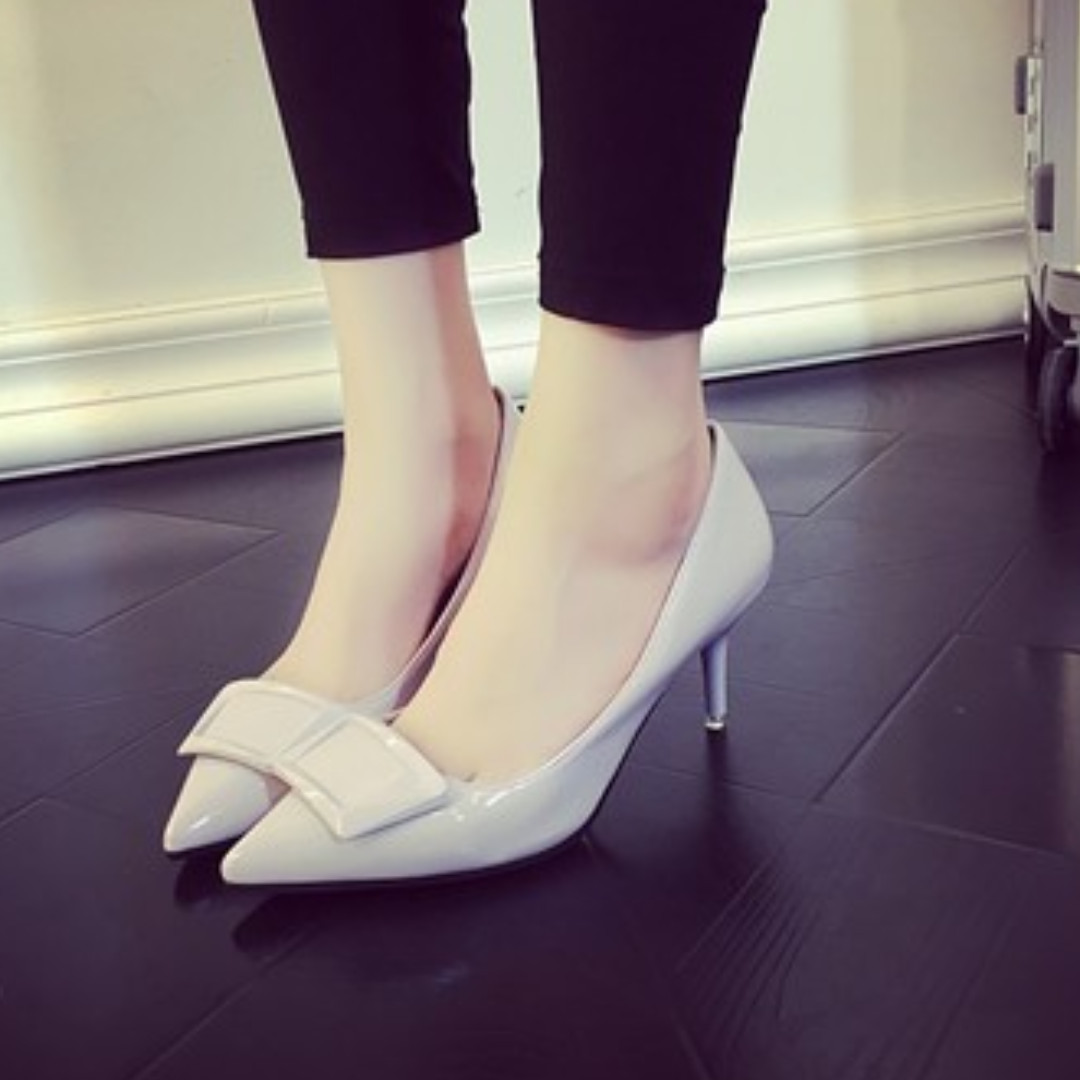 9387b6156b9 [NEW][PO]PROMOTION FOR MONTH OF AUGUST !! Super pretty 9CM HEELS ON SALES  NOW!!