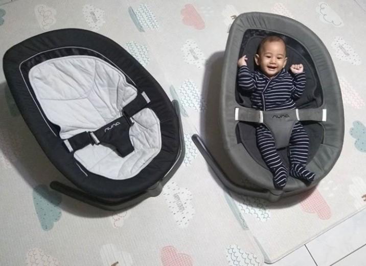 Nuna leaf bouncer baby swing sewa