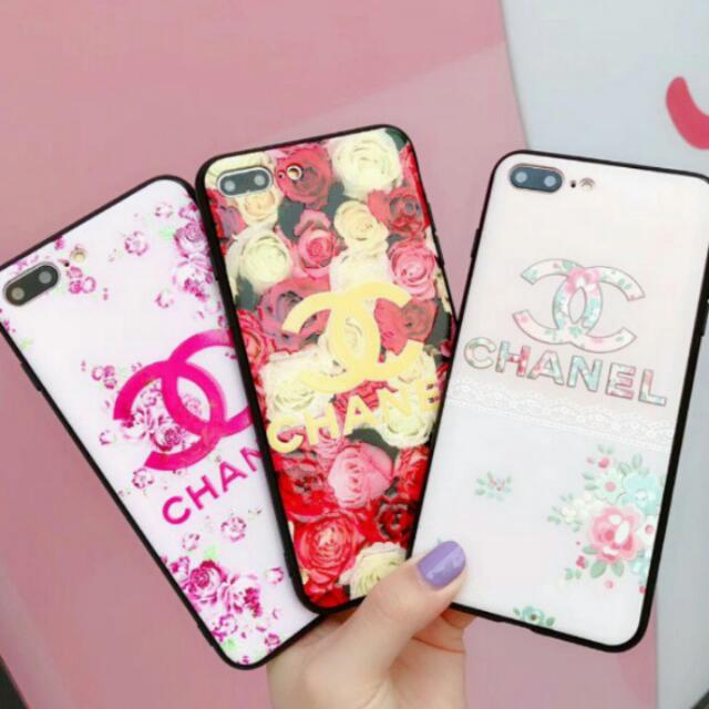 buy online 4099a f404b (One Piece IPhone X Design B In Stock!) Chanel IPhone 6 6S 7 8 X and IPhone  6 6S 7 8 Plus version Case