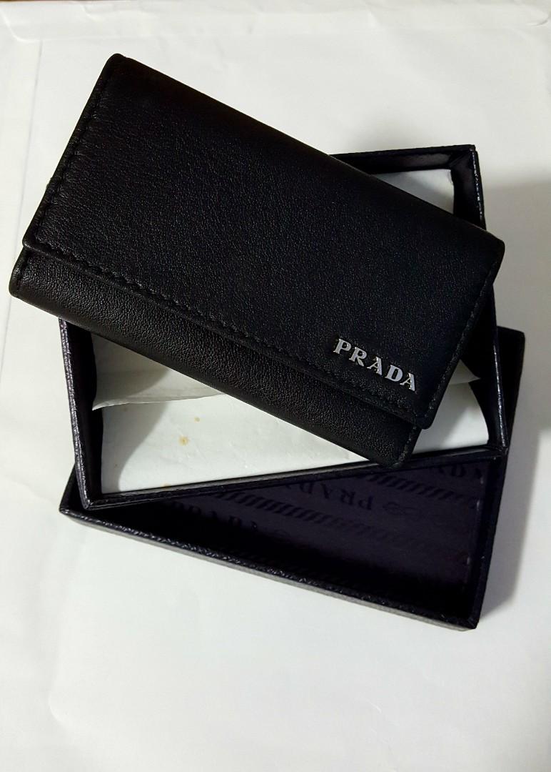 e6139698e799 Prada key holder, Luxury, Bags & Wallets, Wallets on Carousell