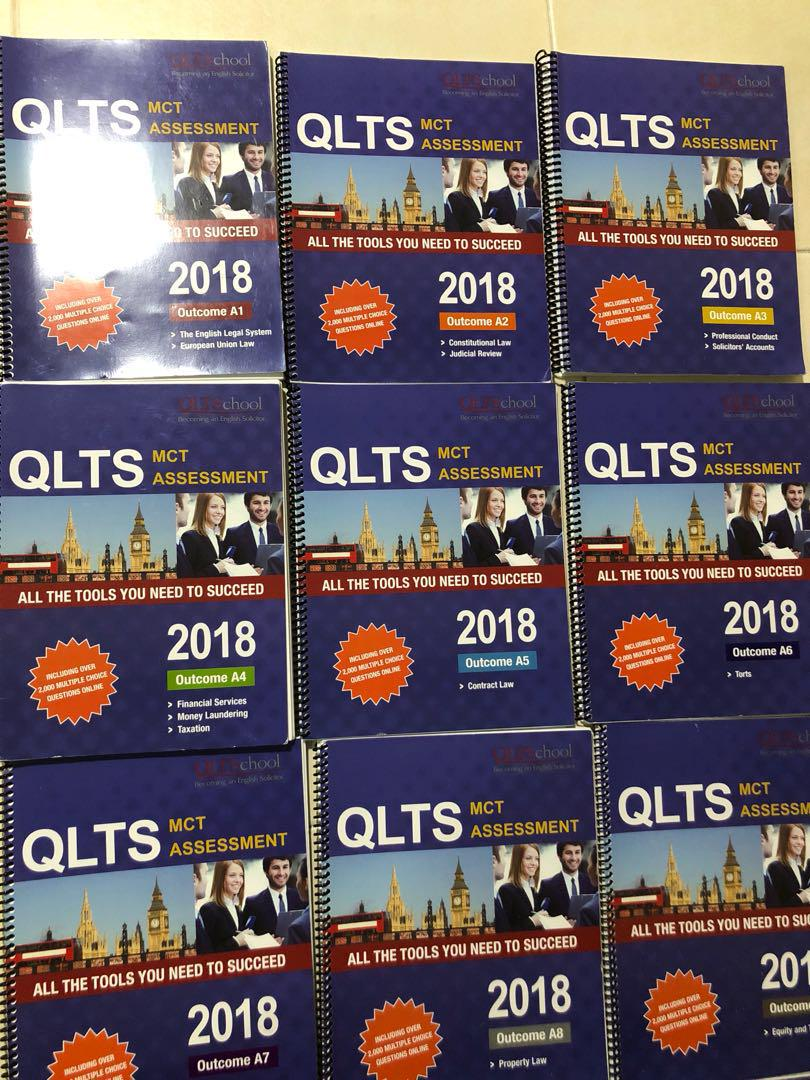 QLTS MCT Guidebooks, Books & Stationery, Textbooks