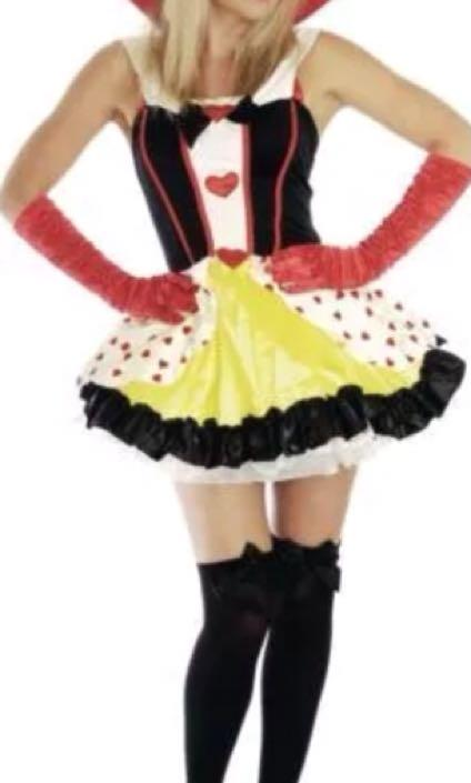 Queen of Heart Women Party Dress Costume AU size 8/10