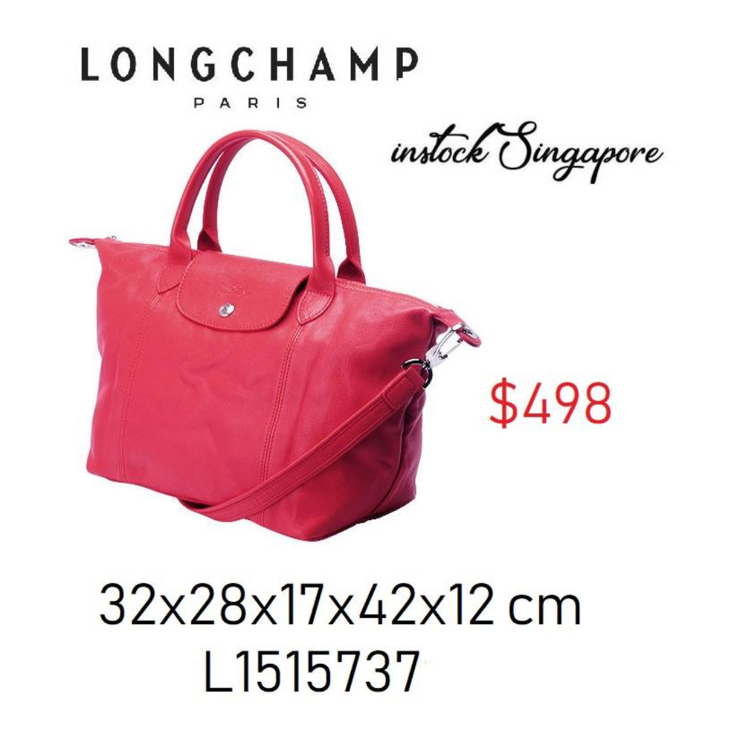 6f56d8c73e4b READY STOCK authentic new Longchamp LE PLIAGE cuir full leather ...
