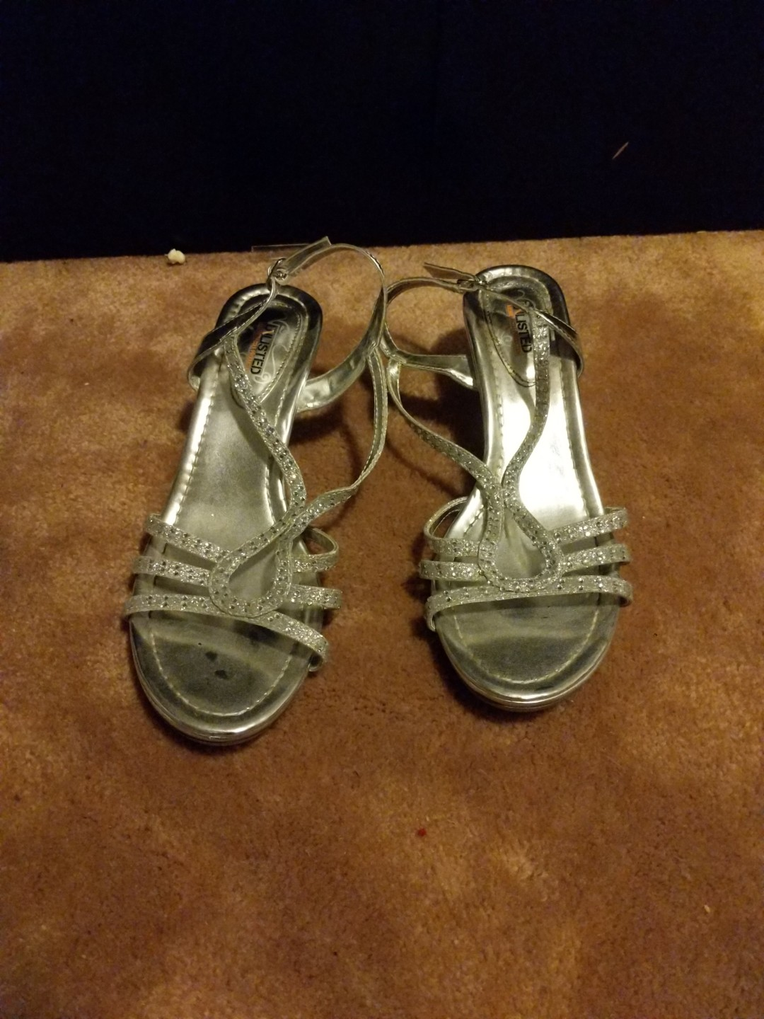 Silver Small Heels