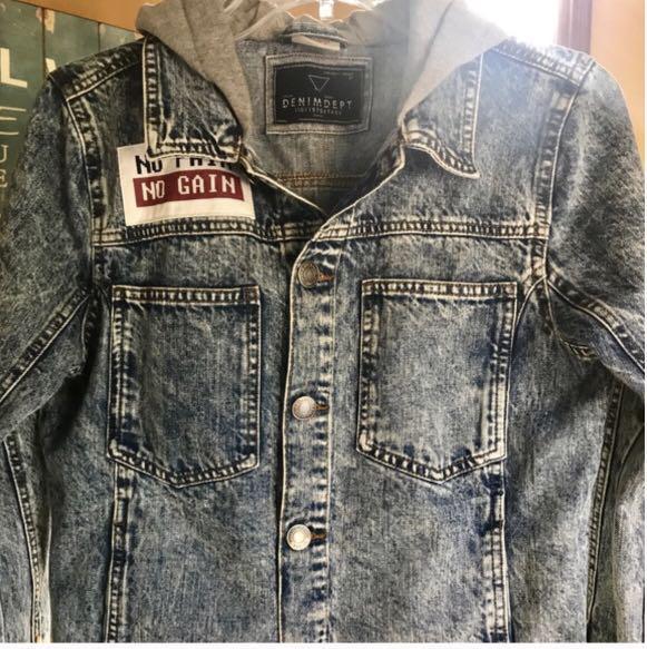 Size 11/12 denim Zara jacket