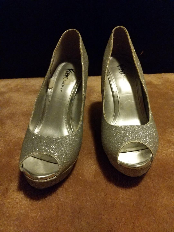 Sparkly 2 Inch Heels