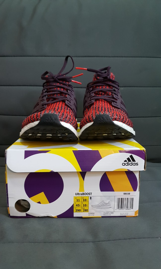 773c3fb0825e7  STEAL PRICE  US11 Adidas Ultraboost 4.0 Noble Red