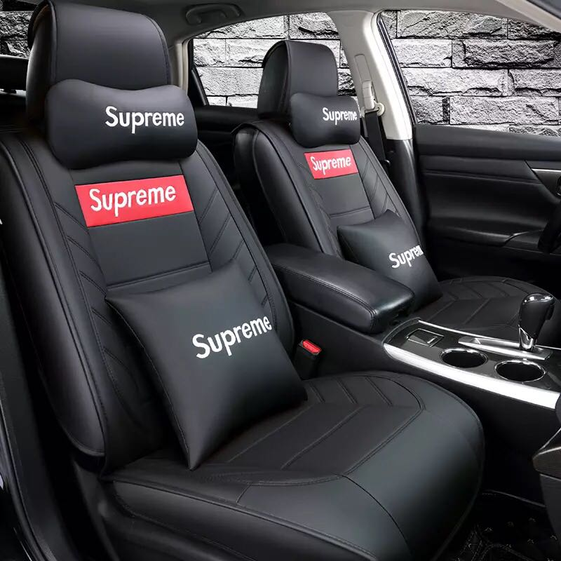 Supreme Car Seat Cover Red Or Black