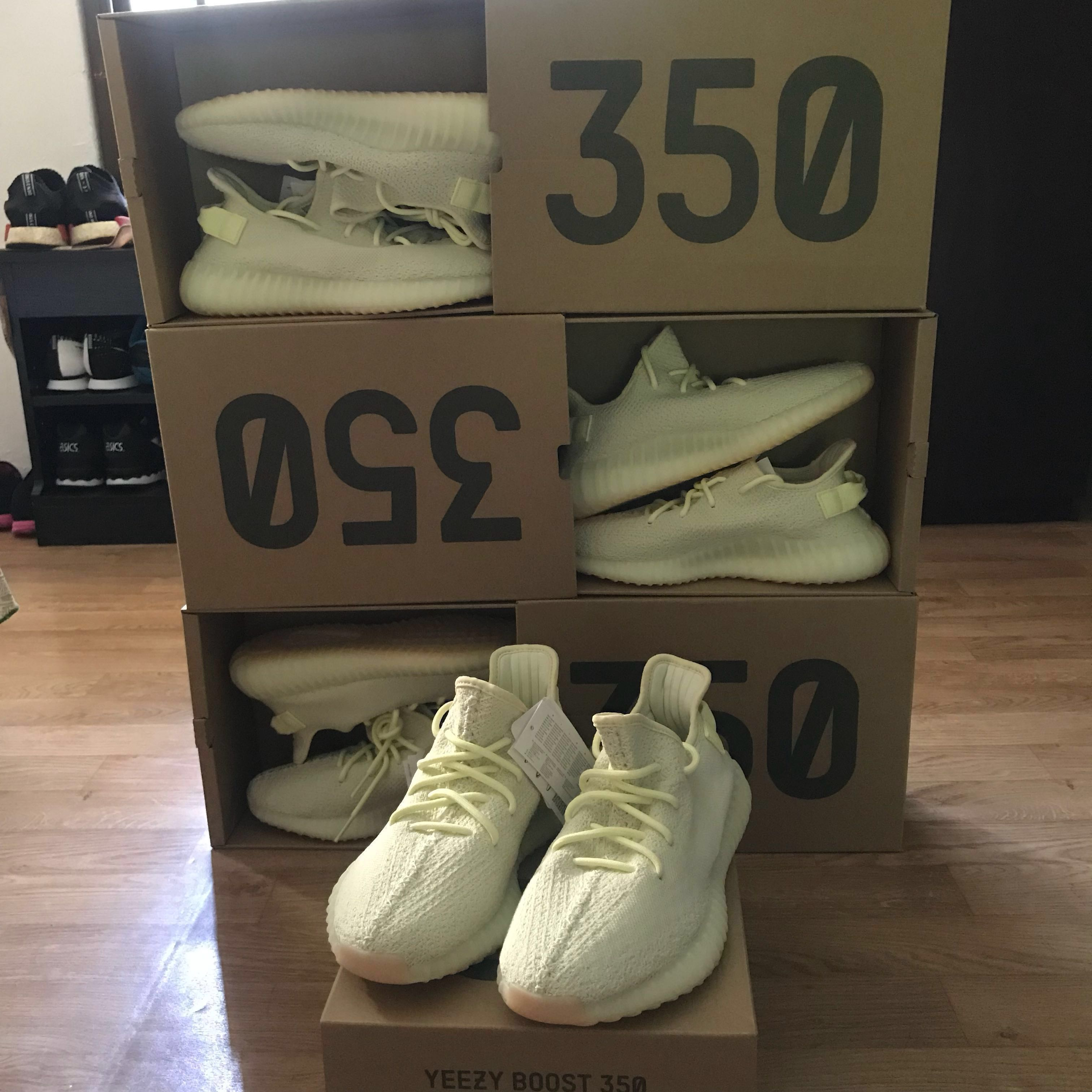 4ad49ada09c US9 - 9.5) Adidas Yeezy Boost 350 V2 Butter