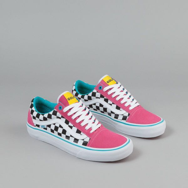 4273cca21f3 Vans x Golf Wang Old Skool Pro Checkerboard