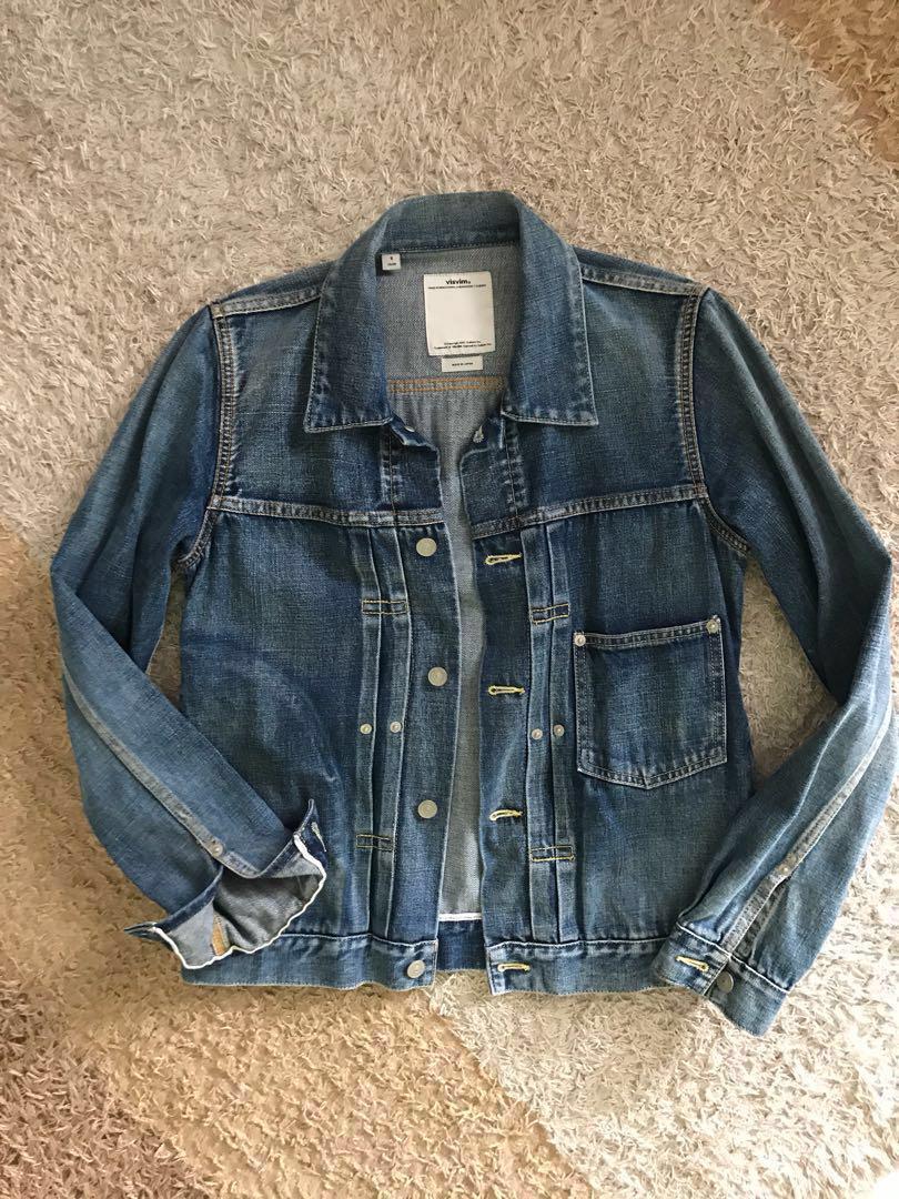 favorable price unique design classcic Visvim chore Denim Jacket, Men's Fashion, Clothes, Outerwear ...