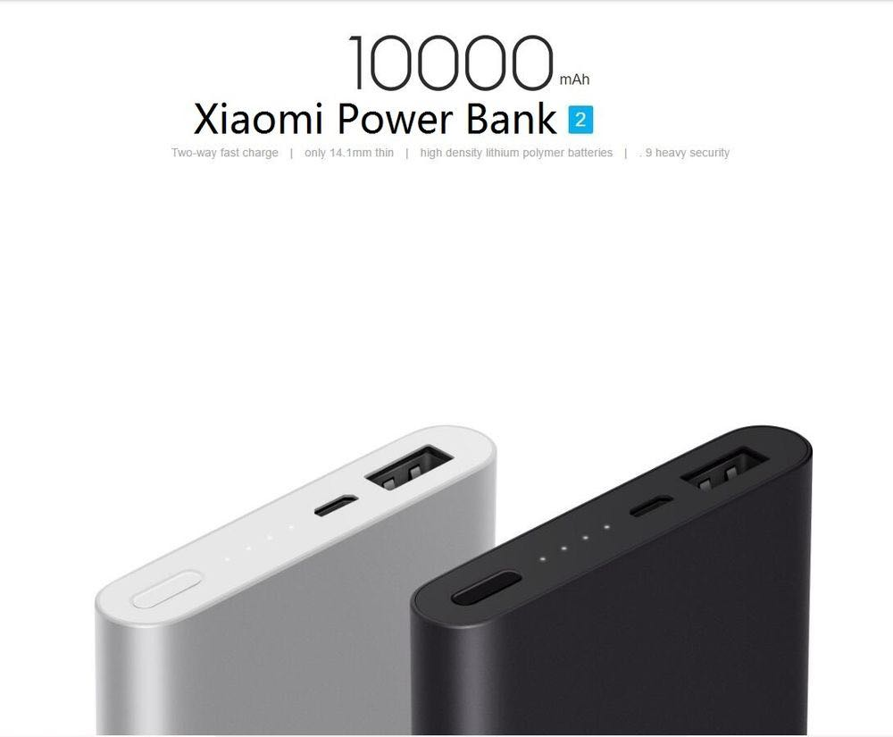 Xiaomi 10000mAh power bank, Mobiles & Tablets, Mobile & Tablet Accessories, Power Banks & Chargers on Carousell