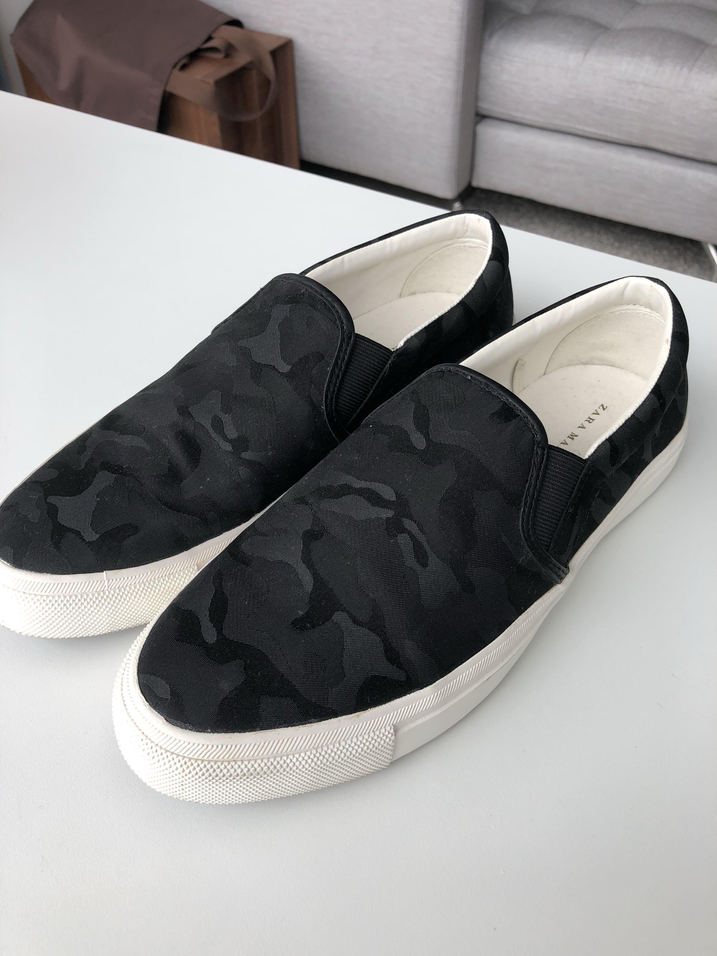 b42380df Zara Man Casual Shoe, Men's Fashion, Footwear, Slippers & Sandals on  Carousell