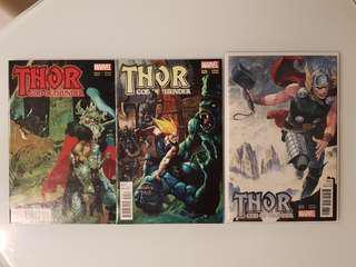 Thor GOD of Thunder #25 Variant Combo
