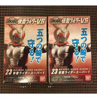 放 幪面超人 SHODO 掌動 SUPER 1 兩盒(全新末開袋)