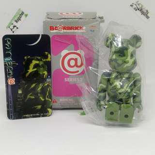 (sealed/ rare) Bearbrick Series 2 Pattern Camo