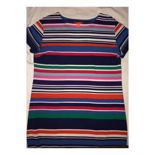 Striped Joe Fresh T Shirt Dress