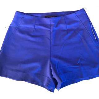 Blue Dynamite Shorts Gold Detail