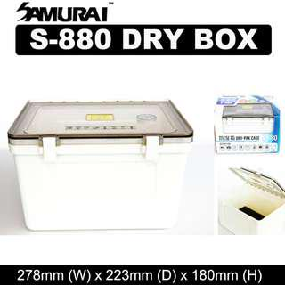 Samurai Dry Box S880 S 880 White with Silica Gel Pack - Improved model