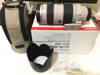 🚚 Canon 鏡頭 70-200mm F2.8