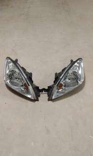 CS3 White Based Head Light