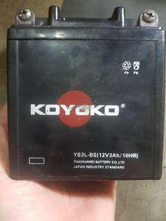 RXZ YAHAMA battery and other small bike with same voltage.