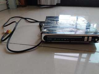 便宜賣♡藍光DVD播放器加贈14片電影DVD