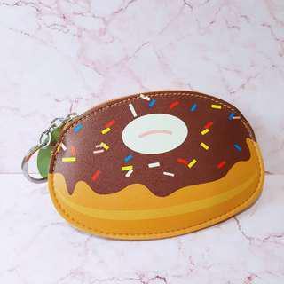 🚚 全新🦄甜甜圈吊飾零錢包
