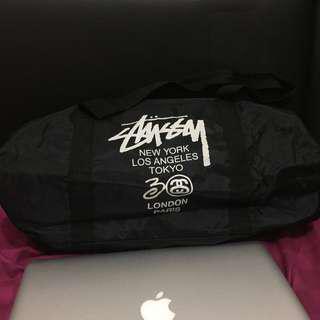 Stussy 30th Anniversary Tour Duffle Bag