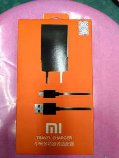 TRAVEL ADAPTOR CHARGER XIAOMI FAST CHARGING (10W)  ORIGINAL USB CABLE MICRO