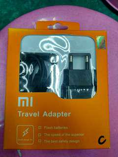 TRAVEL CHARGER HANDPHONE XIAOMI TYPE C FAST CHARGING ORIGINAL