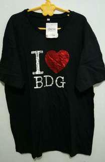 Kaos I ❤ Bdg