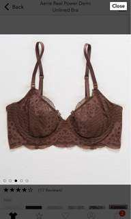 BNWT Aerie Unlined Bra
