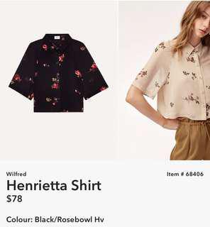 Wilfred Henrietta Shirt