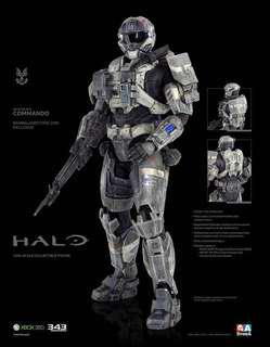 ThreeA 3A Ashley Wood - HALO Spartan Mark V Commando