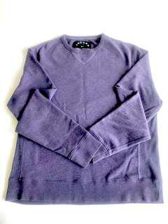 Marc Jacobs Men's purple loopback cotton sweatshirt :: size xl