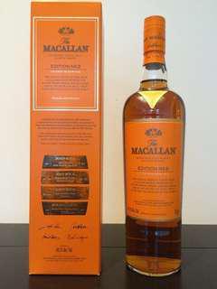 MacAllan Edition No.2 48.2%  Single Malt Whisky