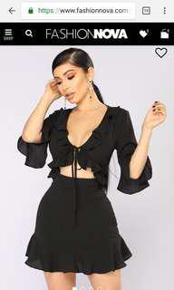"BNWT Fashion Nova dress size xs ""this love is fine"""