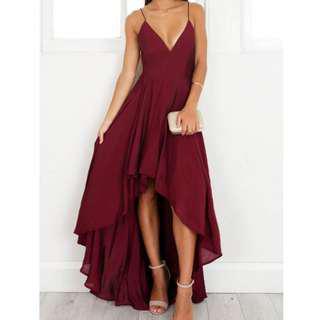 Showpo Red Formal Dress