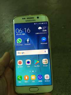 Samsung S6 edge 功能正常、指紋正常 no box with charger