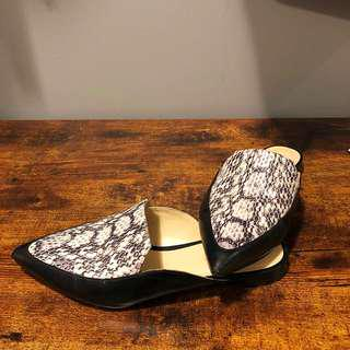 Nine West leather slipper