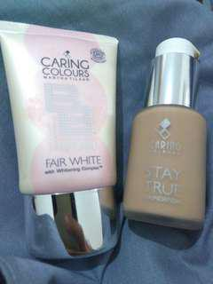 Caring Colour BB Cream + Stay True Foundation