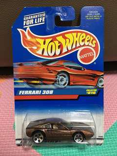 Hotwheels Ferrari 308 Bronze