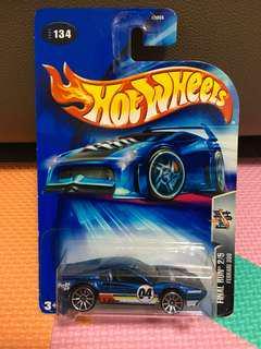 Hotwheels Ferrari 308 Blue