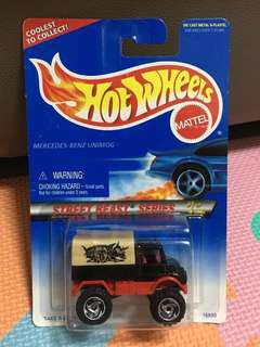 Hotwheels Mercedes Benz Unimog Street Beast Series