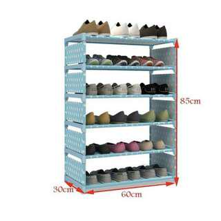 FREESF 6 layers shoe racks