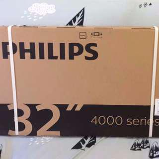 Brand New 32 inch Philips Digital LED TV with DVB-T2