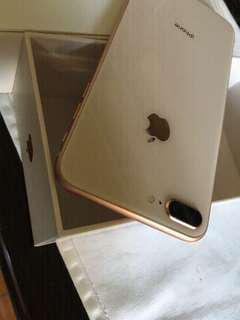 IPhone 8 Plus brand new condition (under warranty)